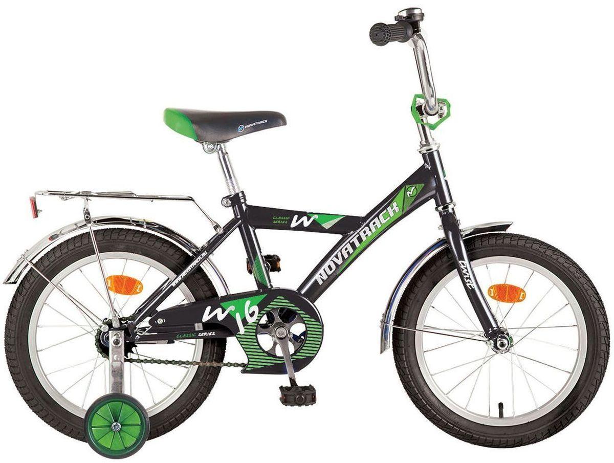 Велосипед детский Novatrack Twist, цвет: черный, 12121TWIST.BK7Novatrack Twist c 12-дюймовыми колесами – это надежный велосипед для ребят 1-3 лет. Высокое качество сборки гарантирует, что велосипед прослужит долго, даже если ваш ребенок будет гонять на нем ежедневно по несколько часов подряд. Велосипед оснащен защитой цепи, которая не позволит ногам и одежде попасть в мезанизм. Еще одно средство, способствующее безопасному вождению велосипеда в любых дорожных условиях – ограничитель поворота руля, который не позволит маленькому велосипедисту слишком сильно повернуть руль и таким образом создать себе все условия для неминуемого падения. Да и учиться ездить с таким приспособлением гораздо удобнее, ведь руль не крутится вокруг своей оси, а значит, и двигаться велосипед будет аккуратно и всегда именно туда, куда нужно. Велосипед оборудован багажником – обязательным атрибутом любого детского велосипеда, ведь как же еще перевозить свои игрушки и другие нужные мелочи во время прогулок? Колеса закрыты крыльями, которые защитят маленького наездника от...