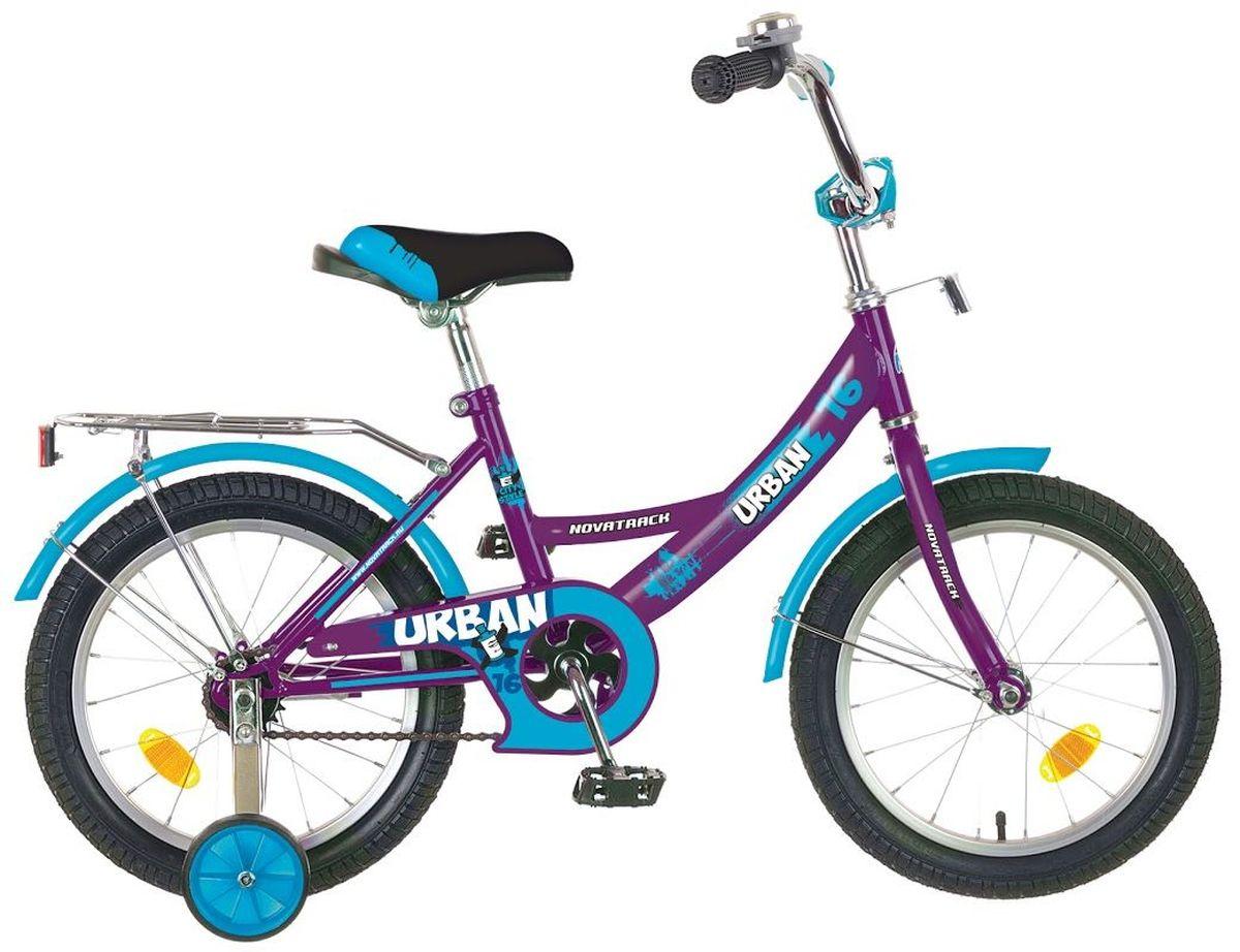 Велосипед детский Novatrack Urban, цвет: бордовый, 20203URBAN.CH6Велосипед Novatrack Urban c 20-дюймовыми колесами это надежный велосипед для ребят 7-10 лет. Высокое качество сборки гарантирует, что велосипед прослужит долго, даже если ваш ребенок будет гонять на нем ежедневно по несколько часов подряд. Велосипед оснащен защитой цепи, которая не позволит ногам и одежде попасть в мезанизм. Велосипед оборудован багажником обязательным атрибутом любого детского велосипеда. Для безопасности установлено целых 4 светоотражателя задний, передний и по одному на каждом из основных колес. Колеса закрыты крыльями, которые защитят ребенка от грязи и брызг. А ножной тормоз позволит быстро остановиться, в случае необходимости.