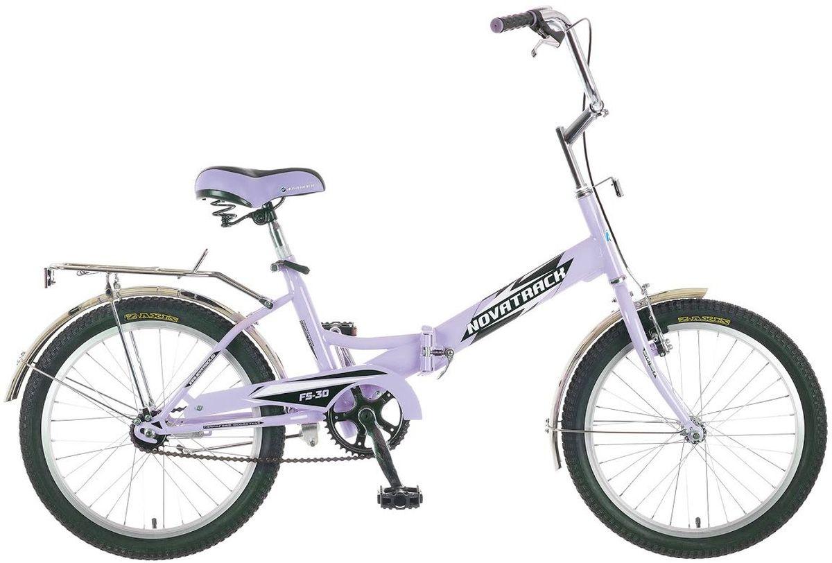 Велосипед детский Novatrack FS-30, цвет: розовый, 2020FFS301V.LC5Novatrack FS-30 20'' – это складной подростковый велосипед, рассчитанный на ребят 8-14 лет, который отличается неприхотливостью, хорошей управляемостью и практичностью. Стальная рама складывается пополам, позволяя разместить велосипед в автомобиле или компактно хранить его в домашних условиях. Стоит отметить широкий диапазон регулировки высоты сидения и руля, благодаря чему велосипед универсален и подойдет для ребят различного роста. Торможение осуществляется ножным тормозом, который работает при любых условиях. Велосипед оснащен хромированными крыльями, широким усиленным багажником, защитным кожухом цепи, подножкой и светоотражателями.