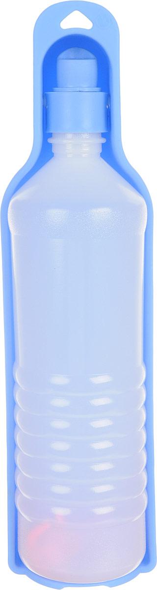 Бутылка дорожная для собак GiGwi, 750 мл75190Бутылка дорожная для собак GiGwi - идеальное решение для длительных переездов и путешествий. Пластиковая бутылка с миской-формочкой дополнена шнурком для крепления на рюкзак. Объем: 750 мл