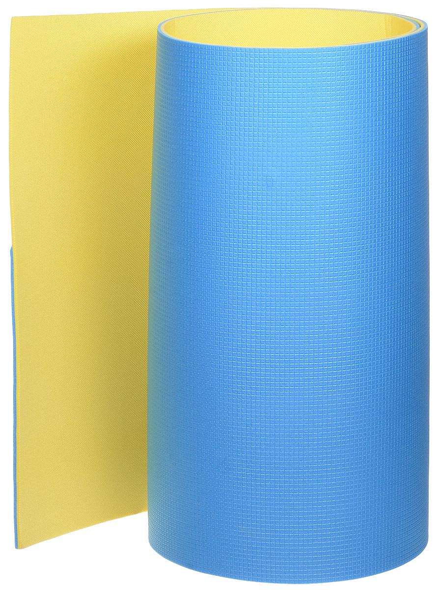 Коврик туристический Tramp Tourist, цвет: синий, желтый, 180 х 60 х 0,8 смIRA-004Двухслойный коврик Tramp Tourist является необходимым атрибутом любого туристического похода, выездов за город, рыбалки. Легкий коврик предназначен для сохранения тепла, комфортного сна и предохранения спального мешка от различных повреждений и влаги. Коврик не пропускает холод и тепло, не впитывает влагу, устойчив к воздействию морской воды, различных дезинфицирующих препаратов. Также коврик незаменим для занятия различными видами спорта. Размер: 180 х 60 х 0,8 см.