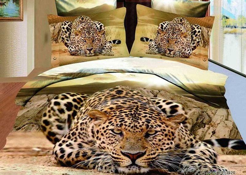 Комплект белья МарТекс Взгляд, 2-спальный, наволочки 70х70. 01-0085-201-0085-2