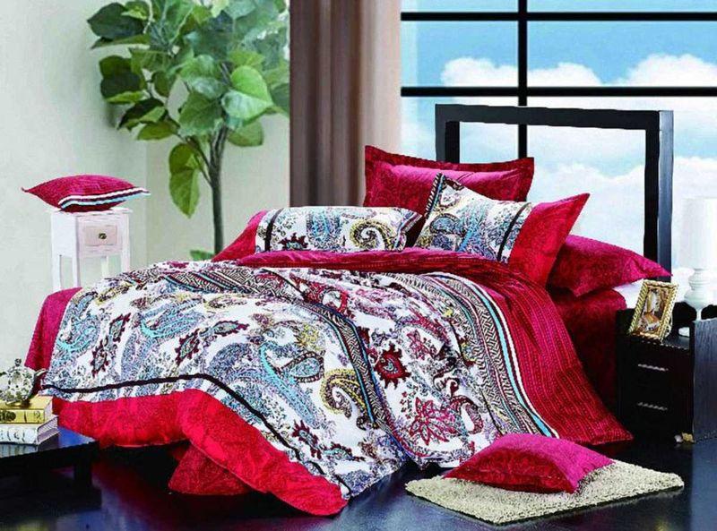 Комплект белья МарТекс Сонет, 1,5-спальный, наволочки 50х70. 01-0143-101-0143-1