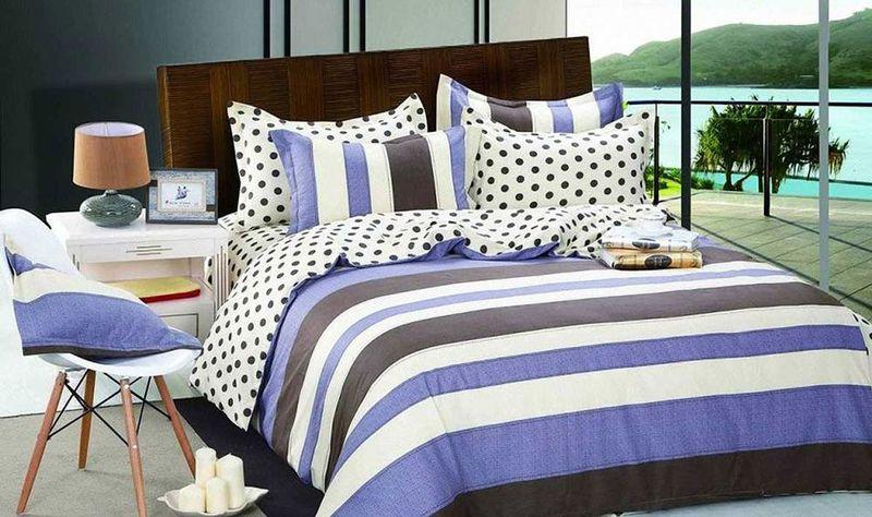 Комплект белья МарТекс Бриз, 1,5-спальный, наволочки 50х70. 01-0148-101-0148-1