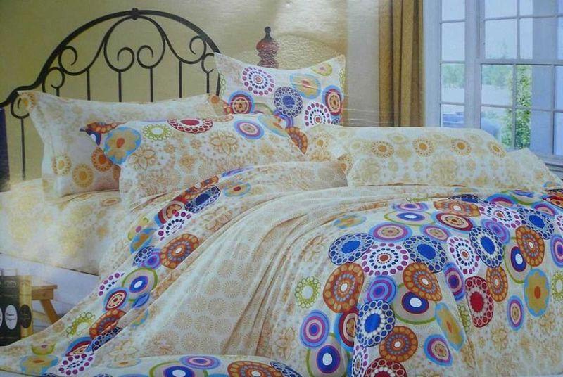 Комплект белья МарТекс Калейдоскоп, 1,5-спальный, наволочки 50х70. 01-0339-101-0339-1