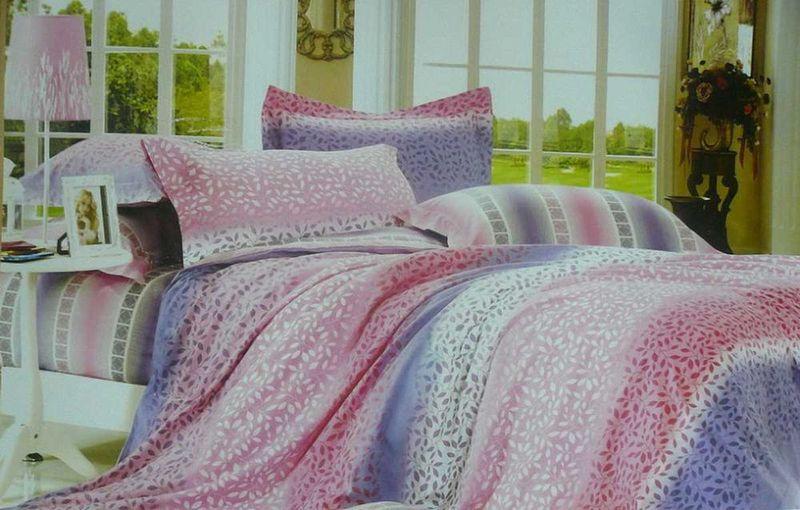 Комплект белья МарТекс Лоза, 1,5-спальный, наволочки 50х70. 01-0342-101-0342-1