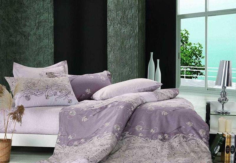 Комплект белья МарТекс Парадиз, 1,5-спальный, наволочки 50х70. 01-0345-101-0345-1