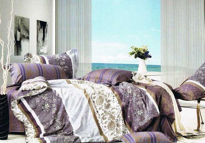 Комплект белья МарТекс Лаура, 1,5-спальный, наволочки 50х70. 01-0346-101-0346-1