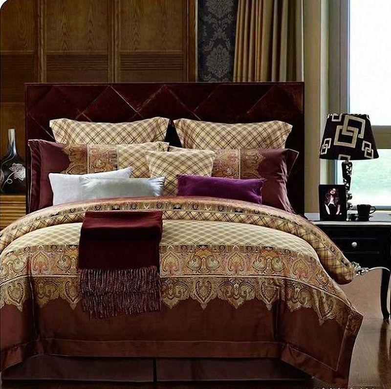 Комплект белья МарТекс Марокко, 2-спальный, наволочки 70х70. 01-0481-201-0481-2