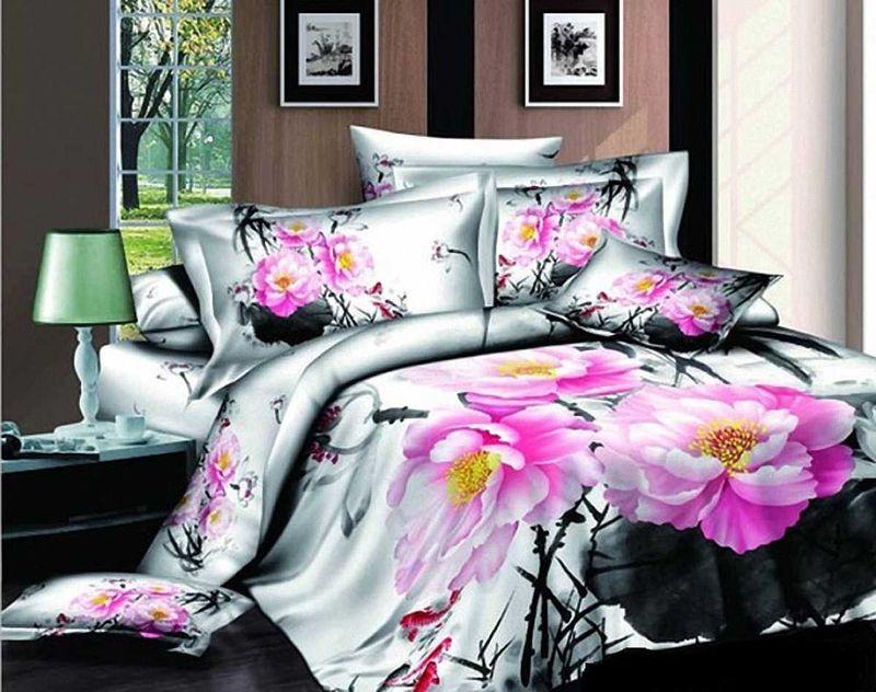 Комплект белья МарТекс Элегант, 1,5-спальный, наволочки 50х70. 01-0485-101-0485-1