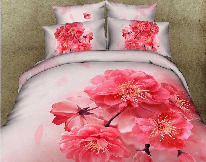 Комплект белья МарТекс Адель, 1,5-спальный, наволочки 50х70. 01-0495-101-0495-1