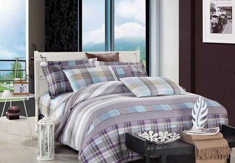 Комплект белья МарТекс Монако, 1,5-спальный, наволочки 50х70. 01-0517-101-0517-1