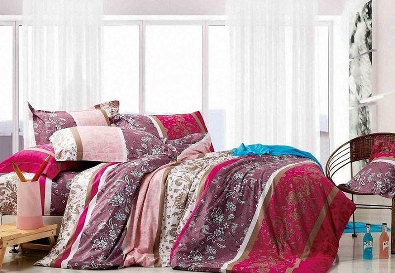 Комплект белья МарТекс Отрада, 1,5-спальный, наволочки 50х70. 01-0522-101-0522-1
