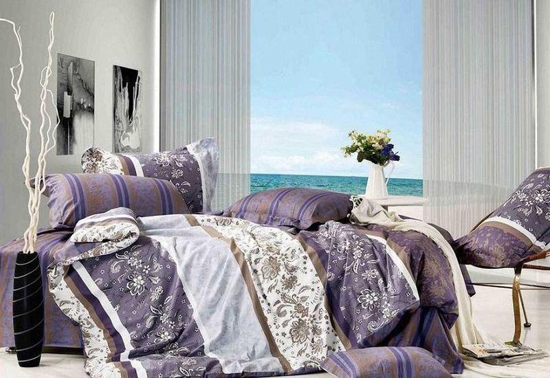 Комплект белья МарТекс Отрада, 1,5-спальный, наволочки 50х70. 01-0523-101-0523-1