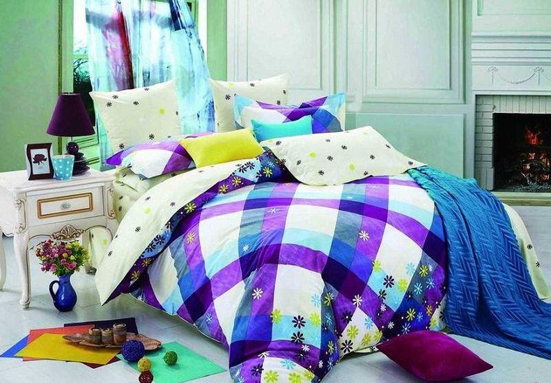 Комплект белья МарТекс Садко, 1,5-спальный, наволочки 50х70. 01-0527-101-0527-1