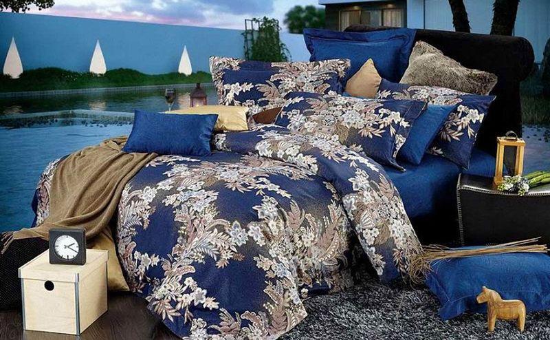 Комплект белья МарТекс Ажур, 1,5-спальный, наволочки 50х70. 01-0560-101-0560-1