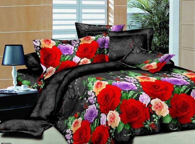 Комплект белья МарТекс, 2-спальный, наволочки 70х70. 01-1152-201-1152-2