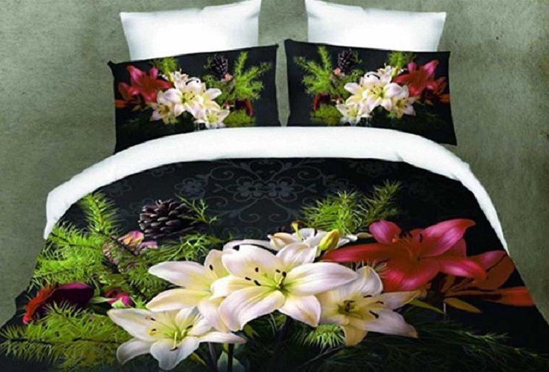 Комплект белья МарТекс, 2-спальный, наволочки 70х70. 01-1155-201-1155-2
