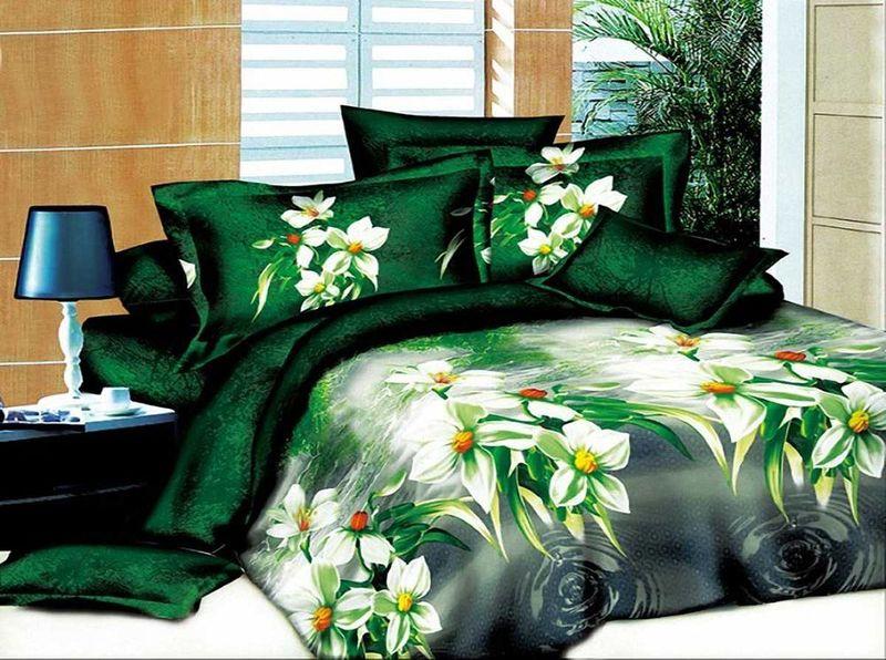 Комплект белья МарТекс, 1,5-спальный, наволочки 70х70. 01-1157-101-1157-1
