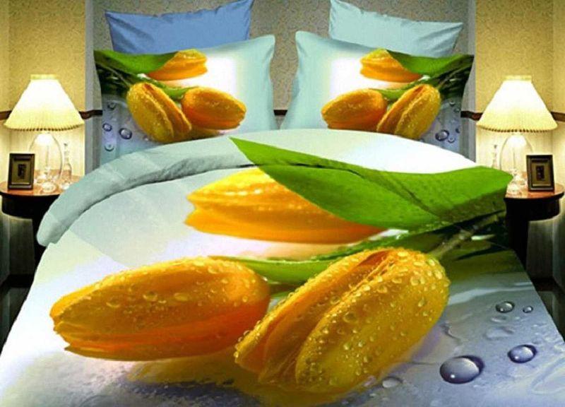 Комплект белья МарТекс, 1,5-спальный, наволочки 70х70. 01-1160-101-1160-1