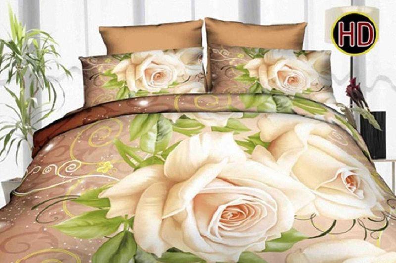 Комплект белья МарТекс, 1,5-спальный, наволочки 70х70. 01-1166-101-1166-1