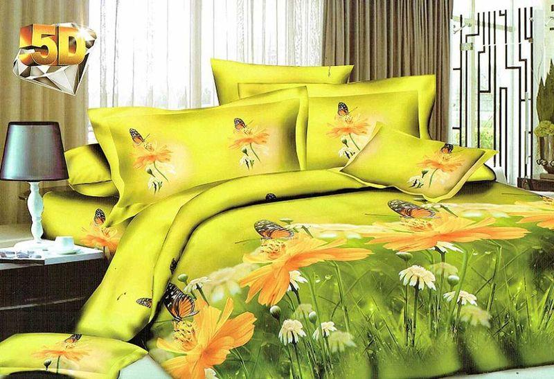 Комплект белья МарТекс Лансар, 1,5-спальный, наволочки 70х70. 01-1190-101-1190-1