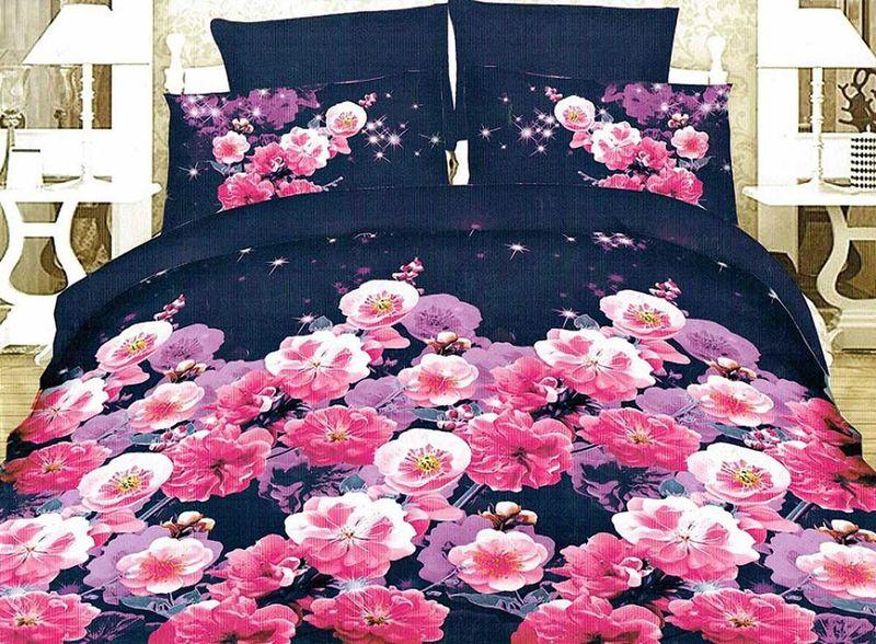 Комплект белья МарТекс Циния, 2-спальный, наволочки 70х70. 01-1216-201-1216-2