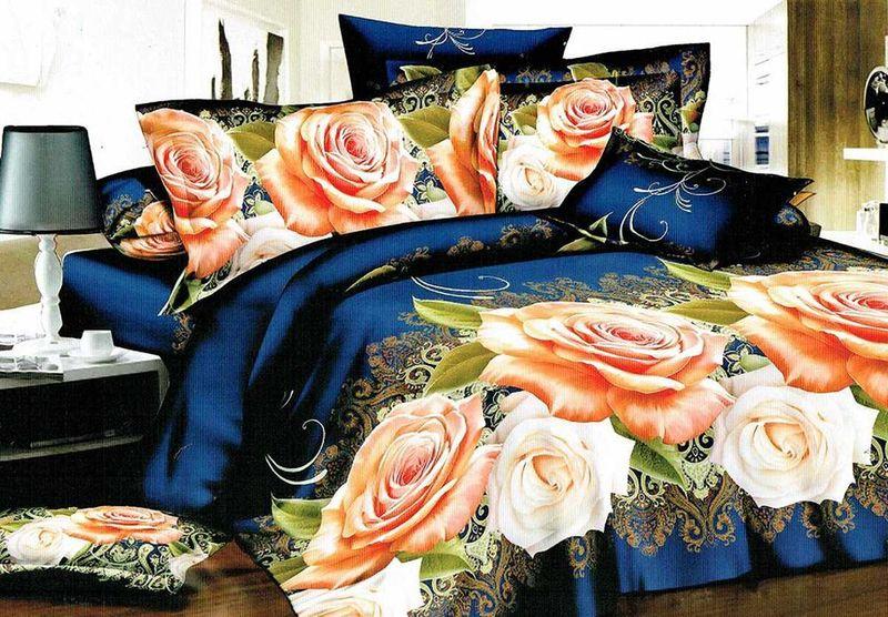 Комплект белья МарТекс Жури, 2-спальный, наволочки 70х70. 01-1222-201-1222-2