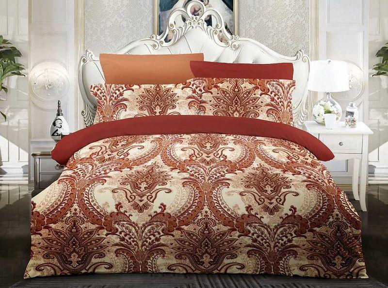 Комплект белья МарТекс Мистраль, 1,5-спальный, наволочки 70х70. 01-1284-101-1284-1