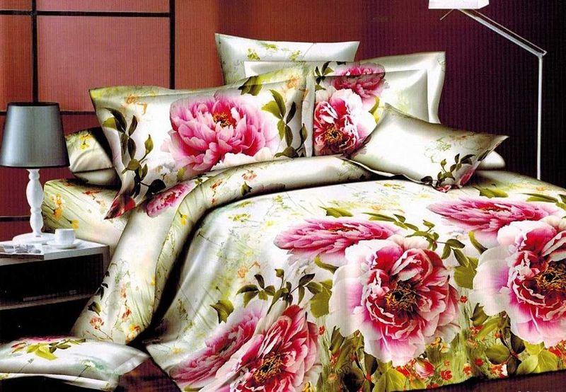 Комплект белья МарТекс Тала, 2-спальный, наволочки 70х70. 01-1303-201-1303-2