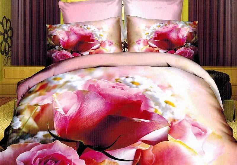 Комплект белья МарТекс Лайма, 1,5-спальный, наволочки 50х70. 01-1312-101-1312-1