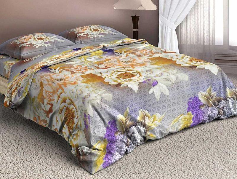Комплект белья МарТекс Боненти, 1,5-спальный, наволочки 70х70. 01-1326-101-1326-1