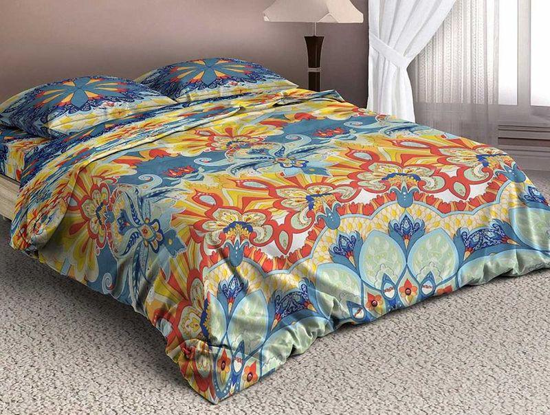 Комплект белья МарТекс Арсин, 1,5-спальный, наволочки 70х70. 01-1329-101-1329-1
