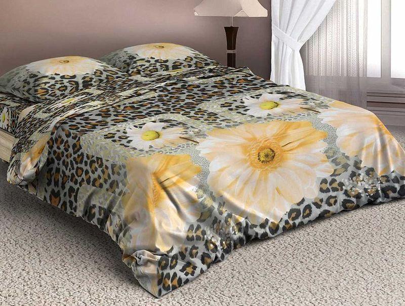 Комплект белья МарТекс Гарбис, 1,5-спальный, наволочки 50х70. 01-1338-101-1338-1