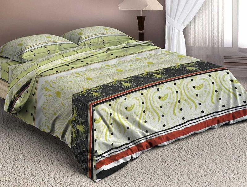 Комплект белья МарТекс Валлоне, 1,5-спальный, наволочки 50х70. 01-1341-101-1341-1