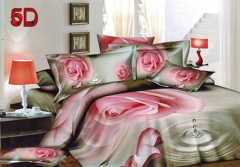Комплект белья МарТекс, 1,5-спальный, наволочки 70х70. 01-1436-101-1436-1