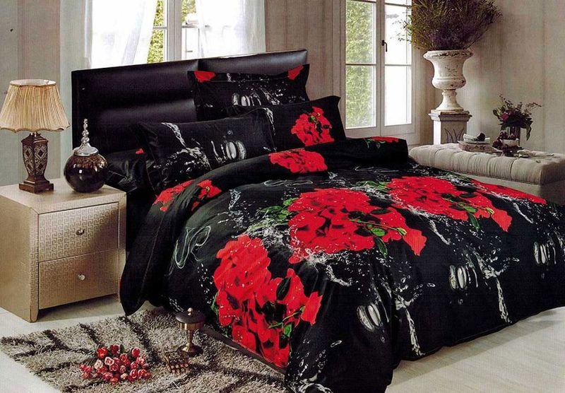 Комплект белья МарТекс, 2-спальный, наволочки 70х70. 01-1488-201-1488-2