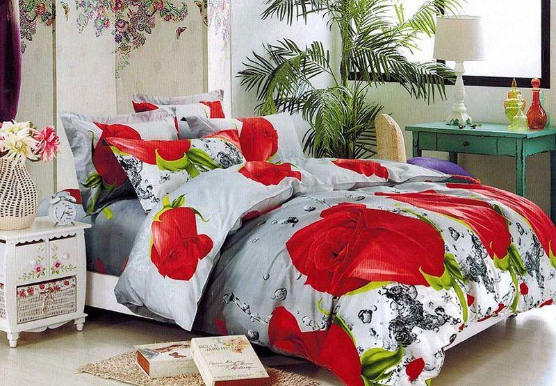 Комплект белья МарТекс, 2-спальный, наволочки 70х70. 01-1563-201-1563-2