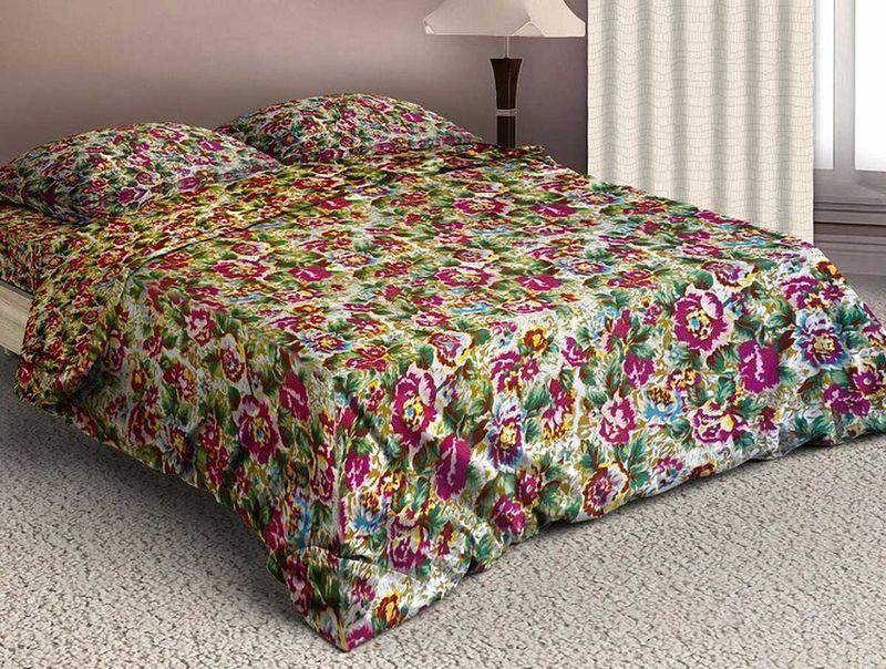 Комплект белья МарТекс Чудный сад, 2-спальный, наволочки 70х70. 01-1579-201-1579-2