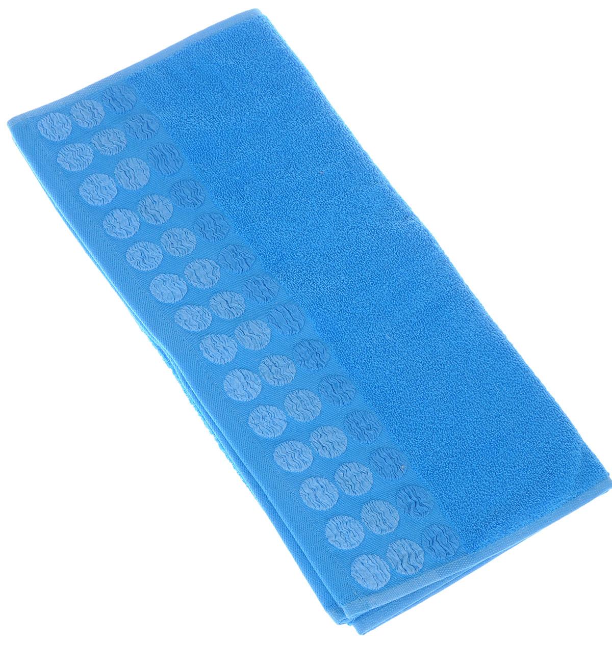 Полотенце Brielle Point, цвет: синий, 50 х 90 см1207Полотенце Brielle Point выполнено из 100% хлопка. Изделие очень мягкое, оно отлично впитывает влагу, быстро сохнет, сохраняет яркость цвета и не теряет формы даже после многократных стирок. Модель оформлена рисунком. Полотенце Brielle Point очень практично и неприхотливо в уходе. Такое полотенце послужит приятным подарком.