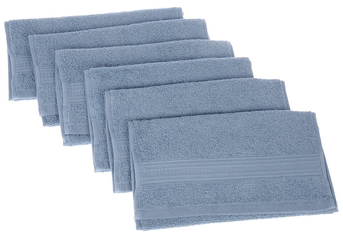 Набор полотенец TAC Mix and sleep, цвет: серо-голубой, 30 х 50 см, 6 шт1200Набор TAC Mix and sleep состоит из шести полотенец, выполненных из натуральной махровой ткани (100% хлопка). Изделия отлично впитывают влагу, быстро сохнут, сохраняют яркость цвета и не теряют формы даже после многократных стирок. Полотенца TAC Mix and sleep очень практичны и неприхотливы в уходе. Такой набор послужит приятным подарком.