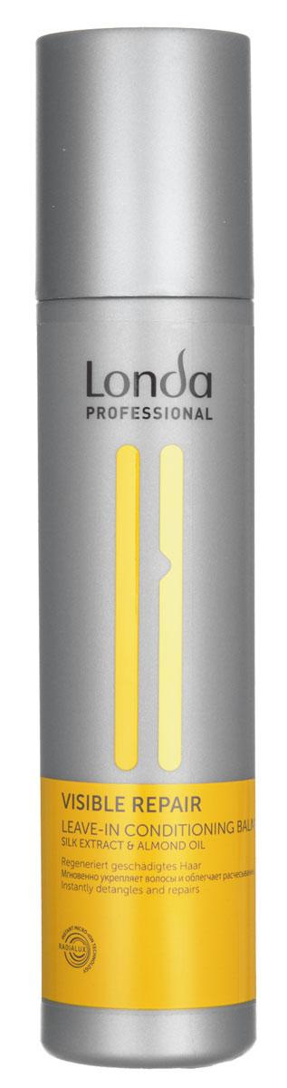 Бальзам-кондиционер Londa Visible Repair, для поврежденных волос, 250 мл0990-81524961Бальзам-кондиционер Londa Visible Repair - легкая эксклюзивная салонная формула питает и восстанавливает поврежденные волосы. Предотвращает статический эффект, делая волосы шелковистыми и сильными. Обеспечивает легкость расчесывания. Применение : нанести на влажные волосы. Не смывать. Товар сертифицирован.