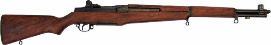 Винтовка M1 Гаранд, калибр 30. Оружейная реплика. Вторая мировая войнаD7/1105Перед Вами винтовка самозарядная серии М-1 Гаранд, сделана по образцу США 1932 г DE-1105, которую оценит каждый любитель такого типа оружия. Является копией винтовок второй мировой войны. Отличается своим качеством и точностью стрельбы.