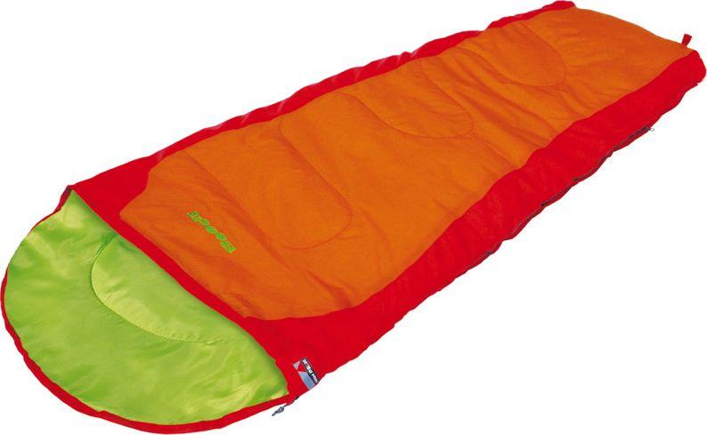 Спальный мешок-одеяло High Peak Kiowa, цвет: красный, оранжевый, 170 х 70 см, левосторонняя молния. 2303823038Легкий детский спальный мешок с синтетическим наполнителем в форме одеяла. Спальный мешок имеет двухстороннюю молнию с защитой от заедания. Наполнитель Dura Loft + Hollowfiber 70%/30% гарантирует комфортный сон при температуре воздуха +14С. Спальный мешок Kiowa оптимально подходит для летних походов и отдыха за городом. В комплекте со спальником идет компрессионный транспортировочный чехол, объем 7.6 литров. Внешняя ткань Полиэстер (с набивкой рипстоп) (Polyester) 185T Внутренняя ткань Дышащий полиэстер Polyester 185T Утеплитель Dura Loft + Hollowfiber 70%/30% Верх 1х200 г/м2 + Низ 1х200 г/м2