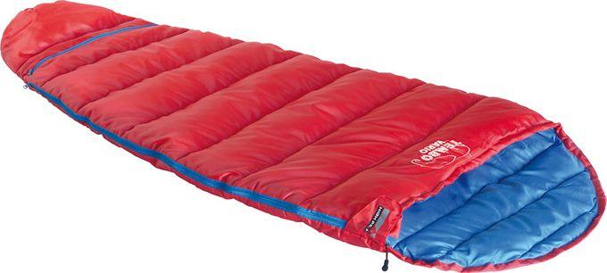 """Спальный мешок High Peak """"Tembo Vario"""", цвет: красный, синий, 185/155 х 72 см, левосторонняя молния. 23042"""