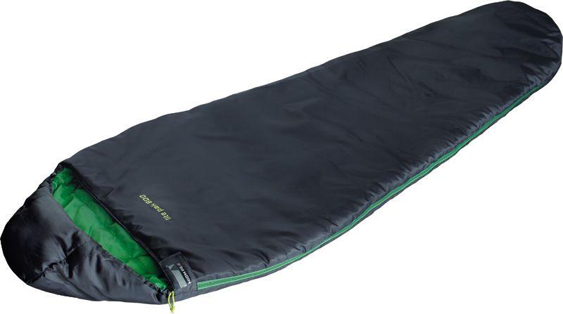 Спальный мешок High Peak Lite Pak 800, цвет: антрацит, зеленый, 210 х 75 х 50 см, левосторонняя молния. 2327023270Сверхлегкий и компактный спальник для легкоходов, предназначенный для летних путешествий. Спальник подойдет для людей ростом не более 179 см. Спальник имеет полноценный капюшон, защищающий вашу голову в прохладную ночь. В верхней части молния фиксируется клапаном на липучке Velcro. На молнии два бегунка, которые позволяют расстегнуть спальник со стороны ног и сделать вентиляционное окно. Спальник утеплен высокоэффективным полым волокном DuraLoft с силиконовым покрытием волокон. Плотность утеплителя равна 150 грамм на кв. метр с обеих сторон спальника. В комплекте со спальником идет транспортировочный чехол. Объем чехла 5,2 л. Внешняя ткань Полиэстер (Polyester) 185T Внутренняя ткань Полиэстер (Polyester) 185T Утеплитель Dura Loft 150 (1х150) г/м2