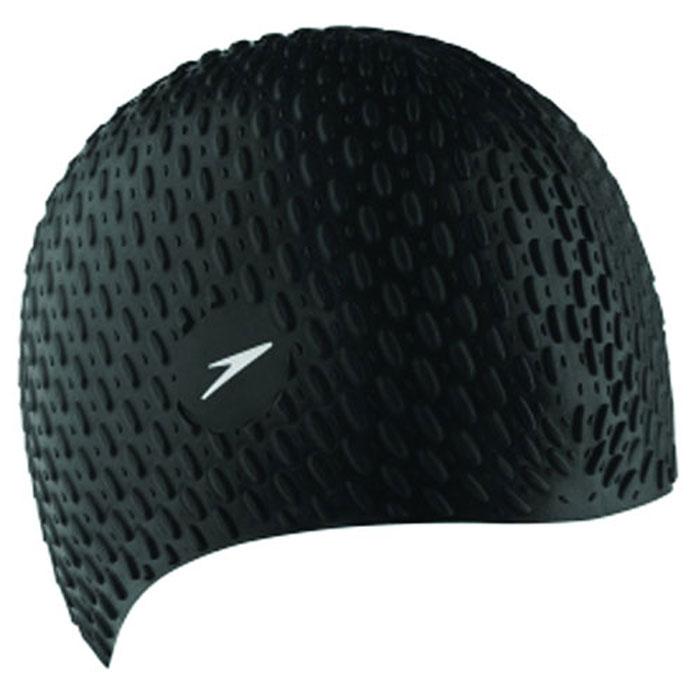 Шапочка для плавания Speedo, цвет: черный, белый. 8-709296817