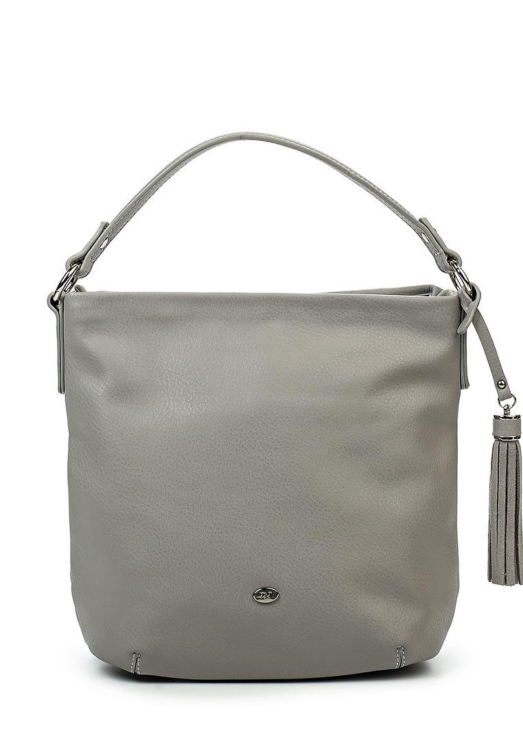 Сумка женская David Jones, цвет: серый. СМ3370СМ3370 CREAMY/GREYВысота ручки: 17 . Одно отделение, два карман (один на молнии), есть карман для телефона, внешний карман на задней стенке (на молнии).