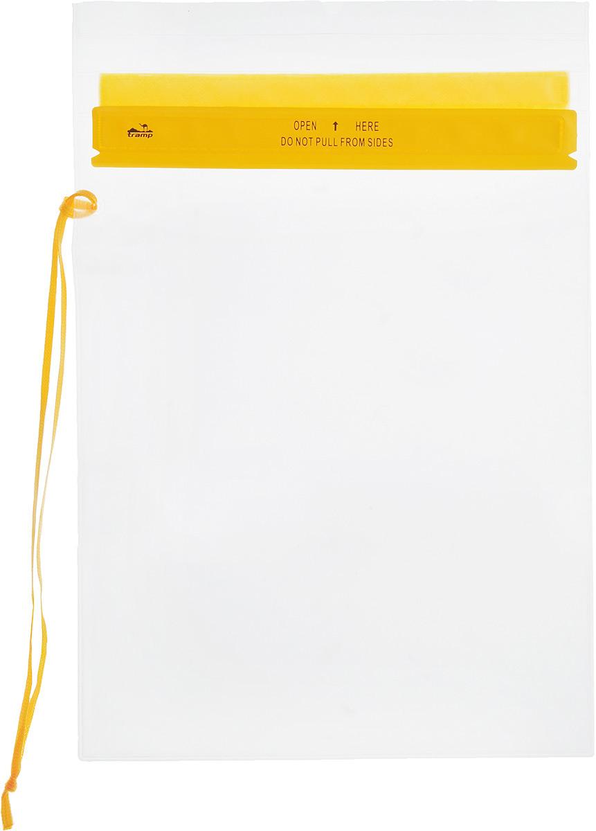 Гермопакет Tramp, цвет: желтый, 26,7 х 35,6 смTRA-023Плоский гермопакет Tramp предназначен для защиты документов, мобильного телефона и прочих важных мелочей от влаги. Незаменим в походах или экспедициях различной сложности. Размер: 26,7 см x 35,6 см.