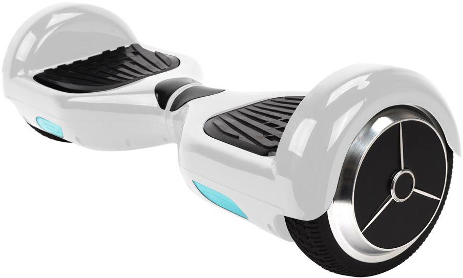 Гироскутер IconBIT Scooter Kit, цвет: белыйSD-0012WГироскутер, диаметр колес 6,5, макс. скорость 15 км/час, расстояние поездки без подзарядки до 20 км, батарея 36 В, 4.4 Ач, время зарядки 150 мин, просвет от земли 3 см, вес: 10,2 кг, цвет белый, в комплекте сумка.